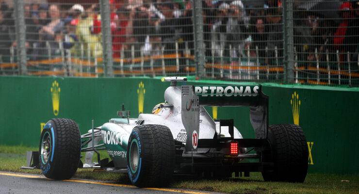 Lewis Hamilton - Mercedes - Formel 1 - GP Australien - 16. März 2013