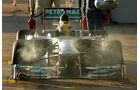 Lewis Hamilton, Mercedes, Formel 1-Test, Jerez, 8. Februar 2013