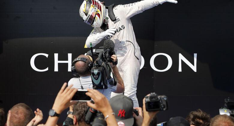 Lewis Hamilton - Mercedes - GP Ungarn - 24. Juli 2016