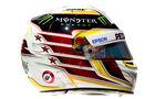 Lewis Hamilton - Mercedes - Helm - Formel 1 - 2016