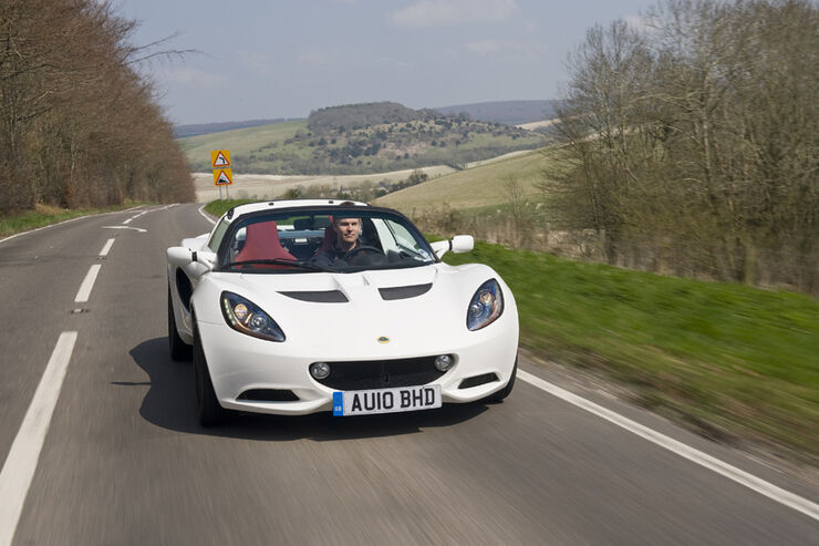 Lotus Elise Frontansicht