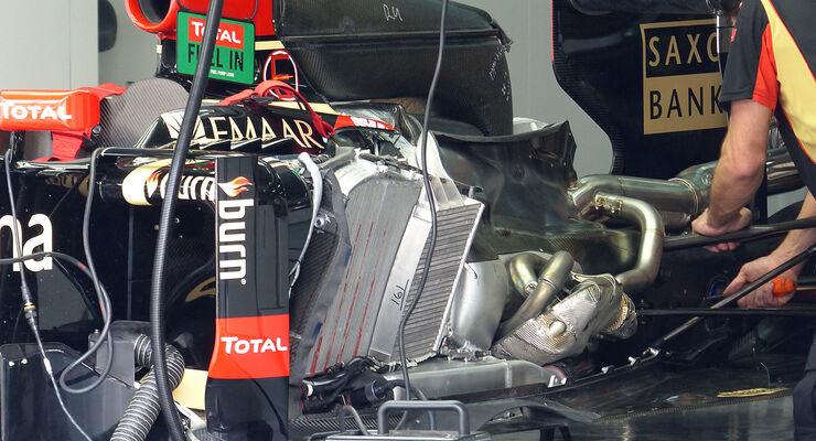 Lotus F1-Motor 2014