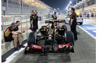 Lotus - Formel 1 - GP Bahrain - Sakhir - 3. April 2014