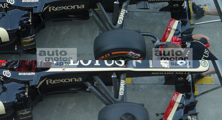 Lotus - Formel 1 - GP Italien - Monza - 6. September 2013