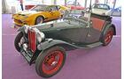 MG TA und De Tomaso Pantera Gruppe 4, Autos der Coys-Auktion auf dem AvD Oldtimer Grand-Prix 2010