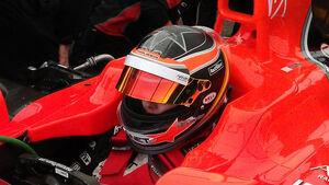 Maria de Villota Test Duxford Marussia 2012