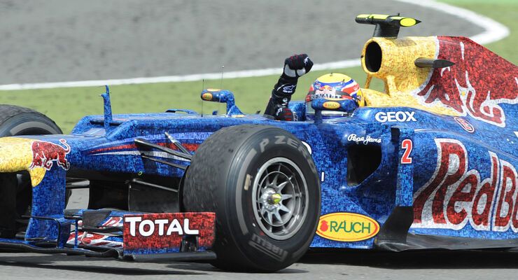 Mark Webber GP England 2012