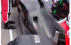 Marussia Auspuff GP England 2012