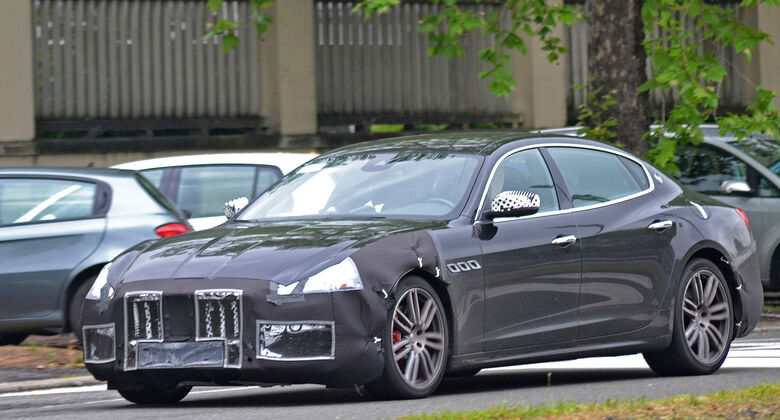 Maserati Quattroporte Erlkönig