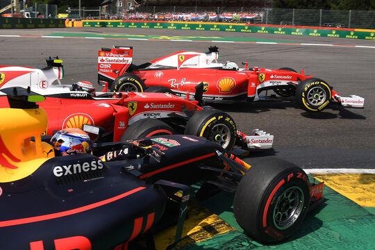Max Verstappen - Formel 1 - GP Belgien 2016