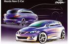 Mazda 3, Generation 1 2003, Zeichnungen