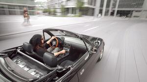 Mazda MX-5, Cabrio, Offen