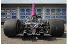 McLaren M8F, ohne Chassis, Rückansicht