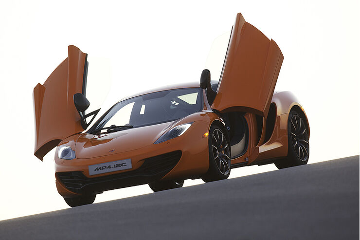 McLaren MP4-12C, Flügeltüren