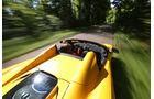 McLaren MP4-12C Spider, Draufsicht, Fahrt