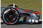 McLaren MP4-27 Formel 1 Nase Jerez 2012
