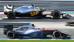 McLaren MP4-30 - Technik-Check - Formel 1 - 2015