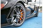 McLaren P1, Rad, Felge
