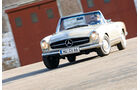 Mercedes 280 SL, Pagode, Frontansicht, Cabrio