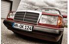 Mercedes 300 CE-24, Front, Kühlergrill