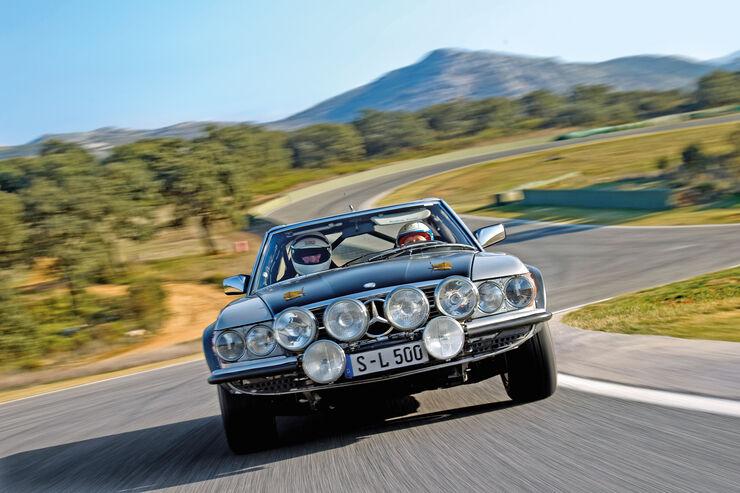 Mercedes 500 SL Rallye, Frontansicht