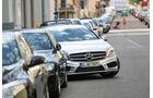 Mercedes A 200 CDI AMG Sport, Frontansicht, Einparken