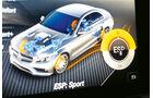 Mercedes-AMG C63, Anzeige