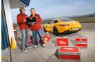 Mercedes-AMG GT S, Testaufbau