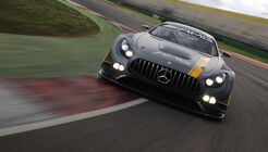 Mercedes-AMG GT3, Tracktest, Frontansicht