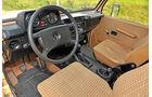 Mercedes-Benz 240 GD, Cockpit, Lenkrad