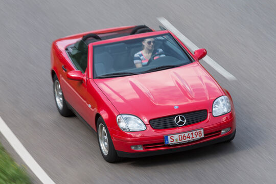 Mercedes-Benz SLK /R170), Frontansicht