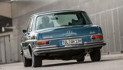 Mercedes-Benz W108, Heckansicht