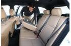 Mercedes C 350 CDi T, Rücksitz, umklappen
