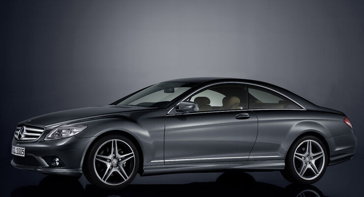 sondermodell mercedes cl 500 jubil ums coup mit. Black Bedroom Furniture Sets. Home Design Ideas