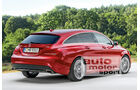 Mercedes CLA Shooting Brake, Heckansicht
