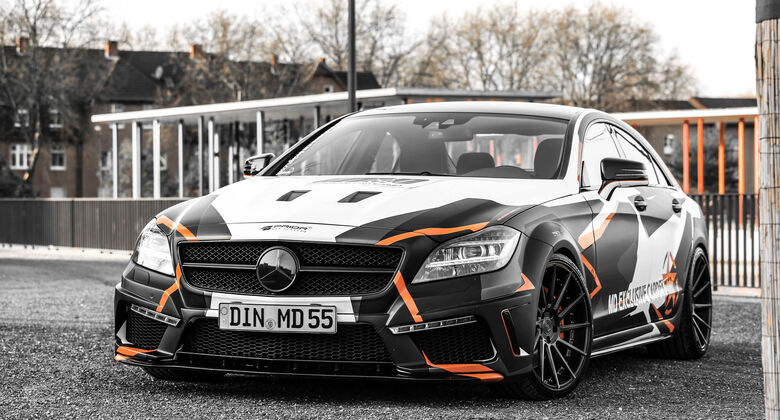 Mercedes CLS 500 by M&D cardesign