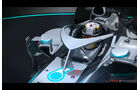 Mercedes - Cockpit-Protection - Piola-Animation - Formel 1 2015