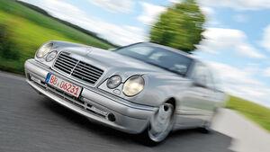 Mercedes E 50 AMG, Frontansicht