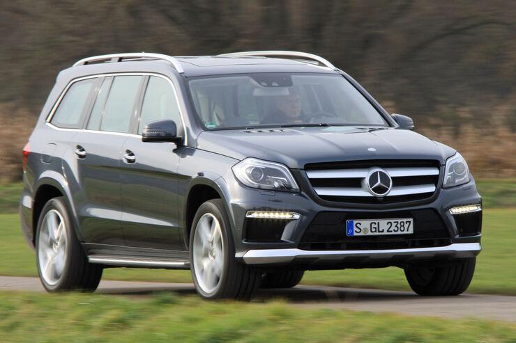 Mercedes GL 350 Bluetec, Frontansicht