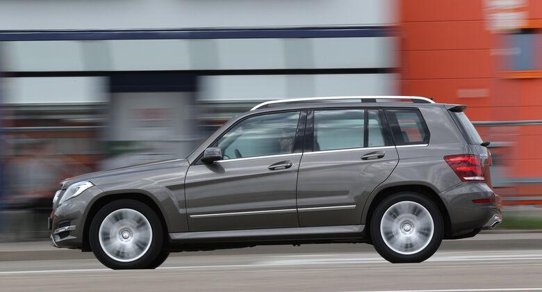 Mercedes GLK 200 CDI, Seitenansicht