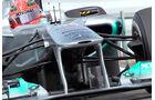Mercedes GP F-Schacht GP Japan Frontflügel 2011