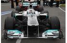 Mercedes GP Frontflügel GP Kanada 2011