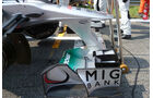 Mercedes GP Frontflügel GP Singapur 2011