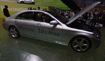 Mercedes S 500 Plug-in Hybrid, IAA
