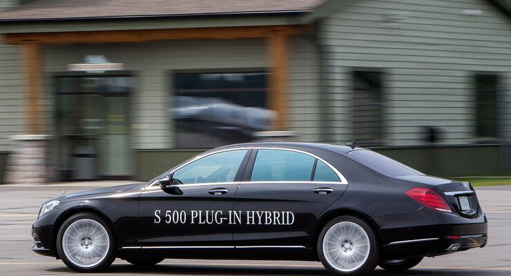 Mercedes S 500 Plug-in-Hybrid, Seitenansicht