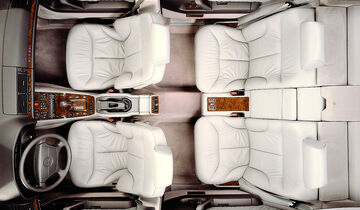 Mercedes S-Klasse, W140, Innenraum