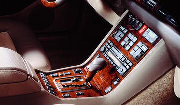 Mercedes S-Klasse, W140, Mittelkonsole