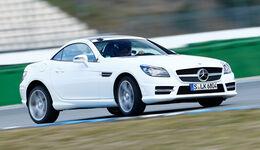 Mercedes SLK 350, Frontansicht