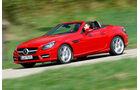 Mercedes SLK BlueEFFICIENCY, Seitenansicht, Ausfahrt