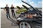 Mercedes SLS AMG E-Cell, Motorhaube